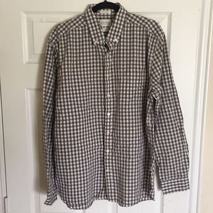 LUCKY BRAND shirt black/white XL